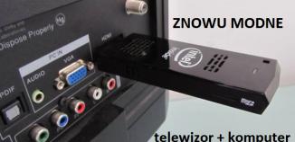Telewizor + komputer